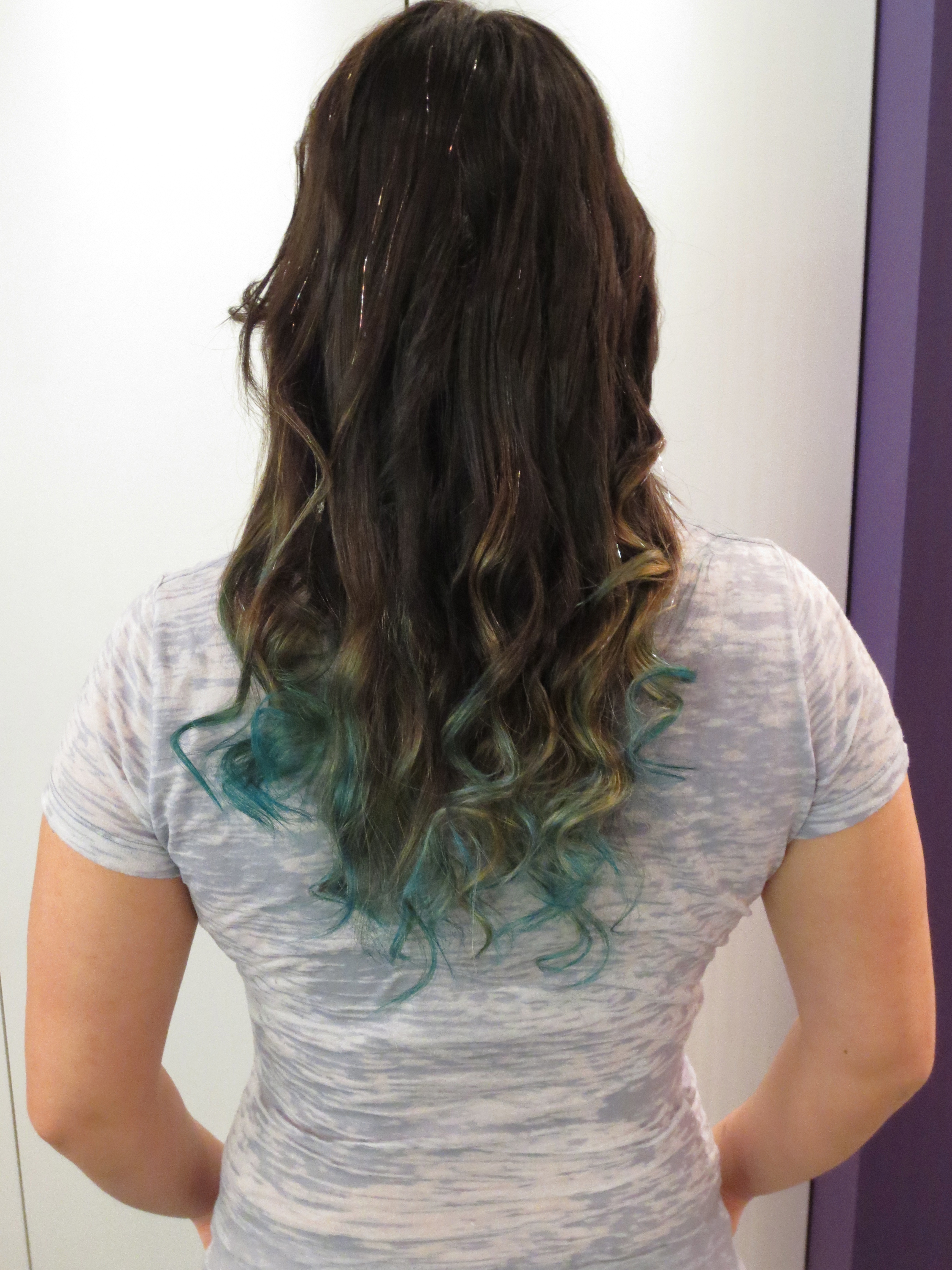 Teal Ombre Jesse S Hair Amp Beauty Blog